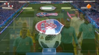 Nos Wk Voetbal - Kroatië - Nigeria Eerste Helft