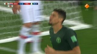 Nos Wk Voetbal - Kroatië - Nigeria Tweede Helft