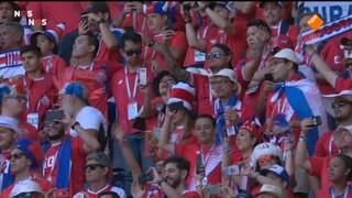 Nos Wk Voetbal - Costa Rica - Servië Eerste Helft