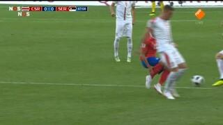 Nos Wk Voetbal - Costa Rica - Servië Tweede Helft
