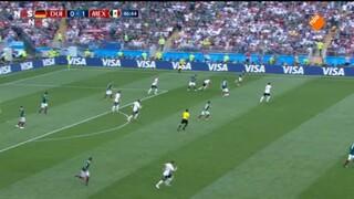 Nos Wk Voetbal - Duitsland - Mexico Tweede Helft