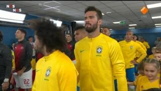 Brazilië - Zwitserland eerste helft