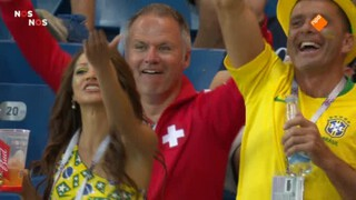 Brazilië - Zwitserland wedstrijdanalyse