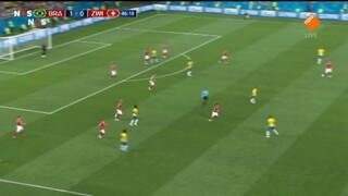 Brazilië - Zwitserland tweede helft