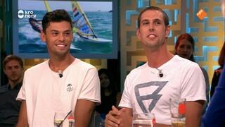 Zó strijden deze twee windsurfers (en beste vrienden) om een Olympisch startbewijs