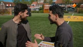 Touzani's WK Warm Up met Alireza Jahanbakhsh
