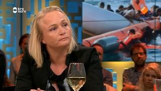 Karline Kleijer en Emilie van Outeren over de migratiecrisis en het schip Aquarius