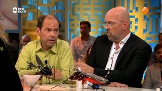 Muggenkenners Wilfred Reinhold en Bart Knols waarschuwen voor gevaarlijke muggen