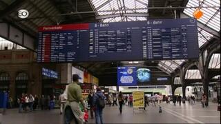 Zwitserland: Gotthardbahn: Zurich-Chiasso