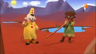 Bumba en Walulu spelen didgeridoo