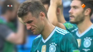 Ontknoping Groep F: Duitsland uitgeschakeld