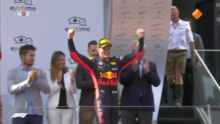 Max Verstappen wint GP