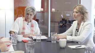 Eindredactie Eindredactie met Prinses Laurentien van Oranje