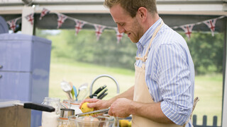 The Great British Bake Off Italiaanse gerechten