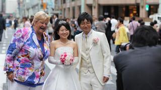 Erica op Reis Japan