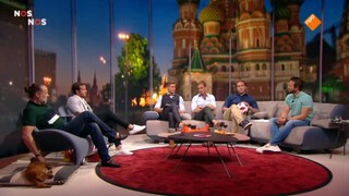 Nos Wk Voetbal - Frankrijk - België Tweede Helft