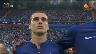 Frankrijk - België eerste helft