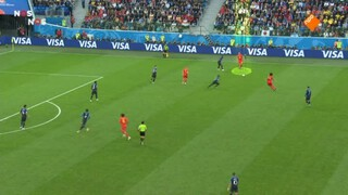 Frankrijk - België wedstrijdanalyse