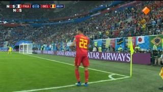 Frankrijk - België tweede helft