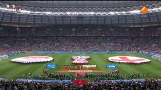 Engeland - Kroatië eerste helft