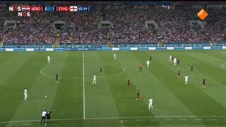 Engeland - Kroatië tweede helft