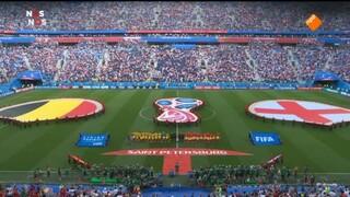 België - Engeland eerste helft
