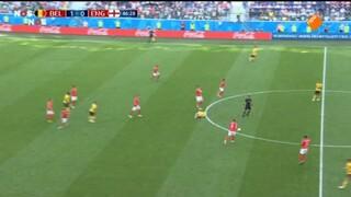 België - Engeland tweede helft