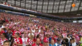 Frankrijk - Kroatië eerste helft