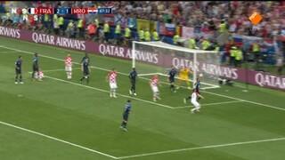 Frankrijk - Kroatië tweede helft