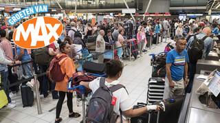 Groeten Van Max - Kunnen De Rijen Op Schiphol Korter?