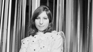 Close Up Barbra Streisand - A star is born