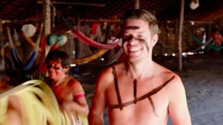 Filemon Buiten Westen Yanomami in Brazilië