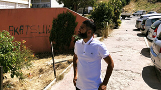 Danny in de buitenwijken Marseille