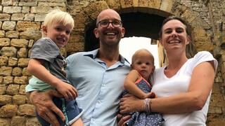 Ik Vertrek - Familie Jungerius, Italië