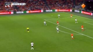 NOS Voetbal Nations League Nederland - Duitsland tweede helft