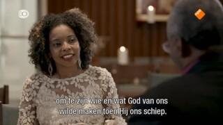 Bisschop Michael Curry heeft een persoonlijk gesprek met presentatrice Minella van Bergeijk (EVA Magazine). Wat betekent het lied Amazing Grace voor hem?