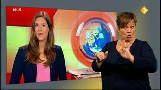 NOS Jeugdjournaal met gebarentolk NOS Jeugdjournaal met gebarentolk
