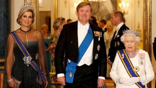 Blauw Bloed Koningspaar brengt staatsbezoek aan Verenigd Koninkrijk