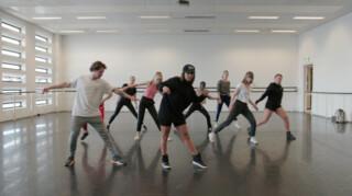 Het Klokhuis - Danseres