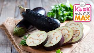 Kook mee met MAX Biefstuk en gegrilde aubergine met chimichurri-rijst