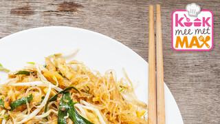 Kook mee met MAX Pad thai met kip