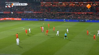 NOS Voetbal Nations League Nederland - Frankrijk tweede helft
