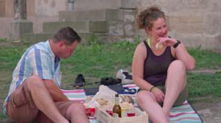 Boer zoekt Vrouw Marnix en Janneke aan de picknick