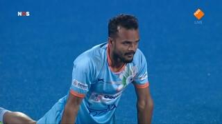 NOS Studio Sport NOS Sport: WK Hockey India - Nederland, kwartfinale eerste helft
