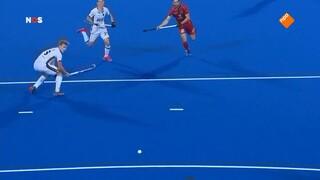 NOS Studio Sport NOS Sport: WK Hockey India - Nederland, kwartfinale tweede helft