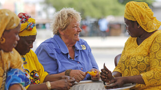 Erica op Reis Senegal