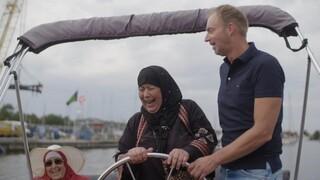 Groeten uit Holland Bootje varen