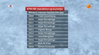 NOS Studio Sport Schaatsen KPN NK Marathon