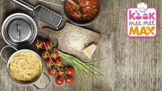 Kook mee met MAX Snelle vegetarische pasta bolognese
