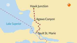 Rail Away - Canada: Sault St. Marie - Agawa Canyon - Hawk Junction